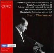 Brahms: Paganini-Variationen; Chopin: Polonaise; Liszt: Réminiscences