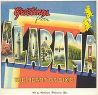 Greetings From Alabama: The Heart Of Dixie