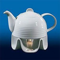 Cilio by Frieling C105148 Tea Pot with Warmer and Light 37 Fl. Oz.