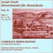 Haydn: Divertimenti für Streichtrio, Vol. 2