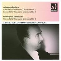 Brahms: Piano Concertos Nos. 1 & 2; Beethoven: Piano Concerto No. 3