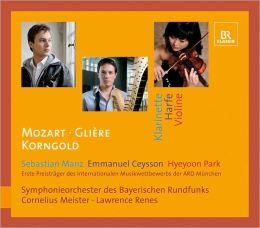 Mozart, Glière, Korngold