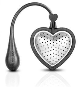 Stainless Steel and Silicone Tea Heart Infuser