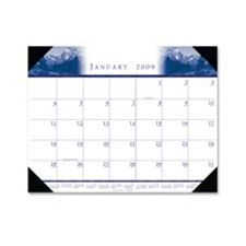 House of Doolittle HOD140HD Desk Pad- in.Illustratedin.- Refillable- 12 Months- Jan-Dec- 22in.x17in.