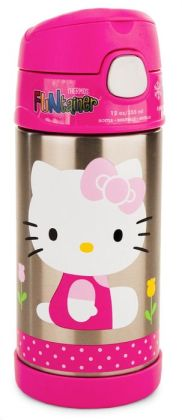 Hello Kitty Stainless Steel Vacuum Insulated 12 oz.Food Container