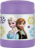 Product Image. Title: Frozen Anna & Elsa Food Jar - 10oz.