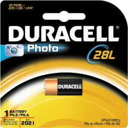 Duracell Usa 6 Volt Lithium Duracell 28L Photo Battery PX28LBPK