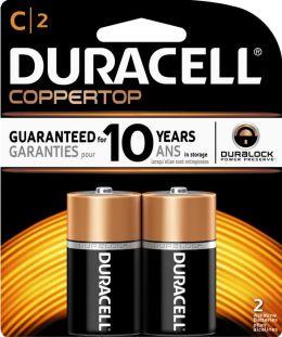 Duracell C 2PK Alkaline Batteries