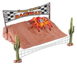 Tarantula Planet Creepy Cactus Raceway with Hot Rod Tarantula