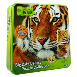 Nat Geo Wild Jigsaw Puzzle inTin (Big Cats)