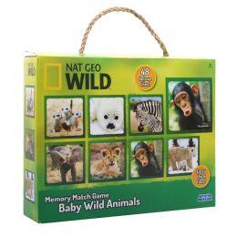 Nat Geo Wild Baby Animals Memory Match