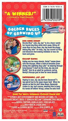 Jay Jay the Jet Plane: Golden Rules of Growing up