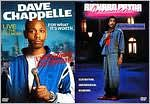 Dave Chappelle: for What It's Worth/Richard Pryor: Here and Now