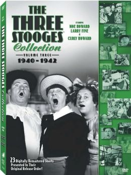 The Three Stooges Collection, Vol. 3: 1940-'42