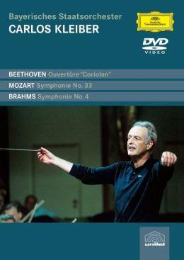 Beethoven: Ciriolan Overture / Mozart: Symphony No. 33 / Brahms: Symphony No. 4