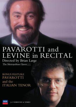Pavarotti & Levine In Recital / Italian Tenor