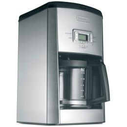 DeLonghi DC514T 14-Cup Programmable Drip Coffeemaker - Stainless Steel