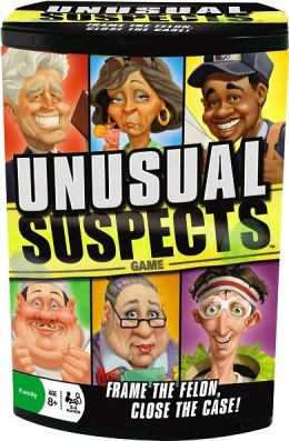 Unusual Suspects Dice Game