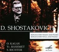 Shostakovich: Sonata for violin and piano; Sonata for viola and piano