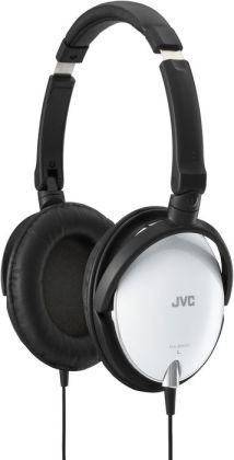 JVC HA-S600 Lightweight Headphones - White