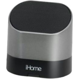 iHome IHM63S Rechargeable Mini Speaker - Silver