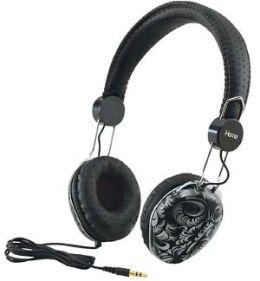 iHome IB43BD Fashion Headphones - Black