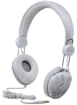 iHome IB43WD Fashion Headphones - White