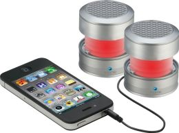 iHome iHM62S Rechargeable Color Changing Stereo Mini Speaker