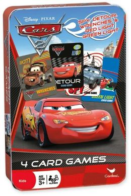 Cars 2 - Cards in Tin