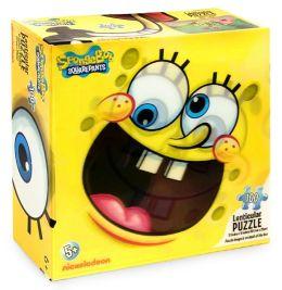 SpongeBob 100 Pc Lenticular Puzzle