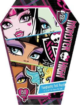 Monster High Foil Puzzle in Coffin Box