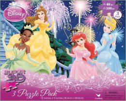 Princess Super 3D 3 Puzzle Pack