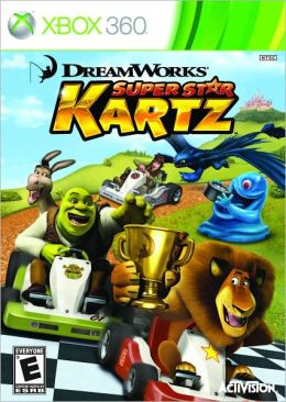 DreamWorks Super Star Kartz X360