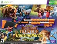 Cabela's Big Game Hunter: Hunting Party w/gun X360 Kinect