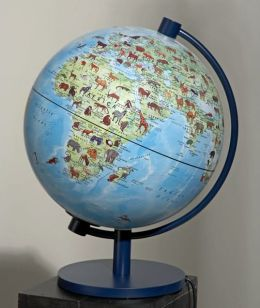 Children's Animal Globe and Encyclopedia