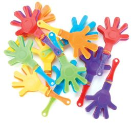 Party Favors 12/Pkg-Mini Hand Clappers