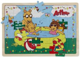 48-piece Puzzle with Story Surprise- Swimming Fun