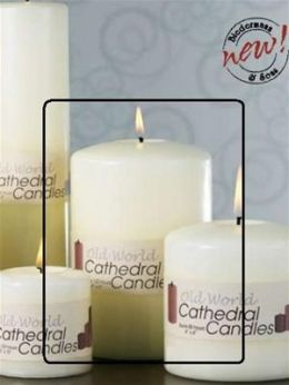 Biedermann & Sons C406 4 X 6 Cathedral Candle