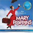 CD Cover Image. Title: Mary Poppins: The Live Cast Recording, Artist: Original Australian Cast