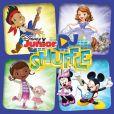 CD Cover Image. Title: Disney Junior: DJ Shuffle, Artist: