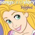 CD Cover Image. Title: Songs and Story: Tangled, Artist: Disney