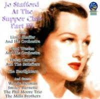 Jo Stafford At The Supper Club, Pt. 3