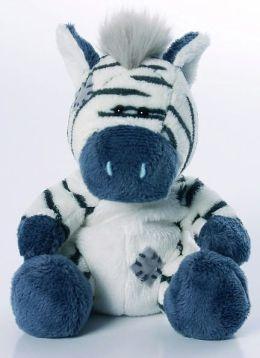 Blue Nose Friends Zebra  4 inch Plush