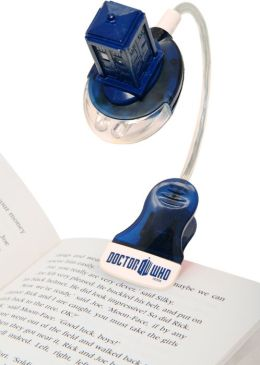 Doctor Who Clip-on TARDIS Book Light with UV Pen