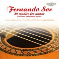 Fernando Sor: 20 Studies for Guitar