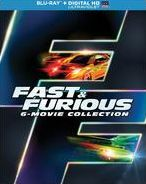 Fast & Furious: the 6-Movie Collection