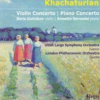 Khachaturian: Violin Concerto & Piano Concertos