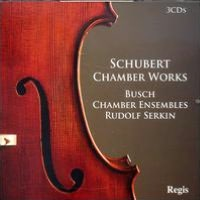 Schubert Chamber Works
