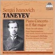 Sergei Ivanovich Taneyev: Piano Concerto in E flat major
