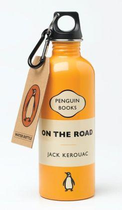 Penguin Water Bottle On the Road